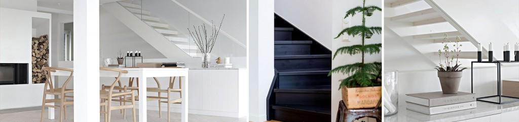 Rak trappa och L-trappa